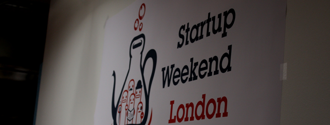 London Startup Weekend has begun with 50 fresh pitches