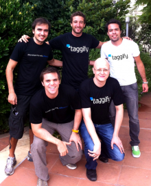 taggify founding team 220x272 Argentine ad network Taggify has just raised $1m   and 100% of it comes from Chile