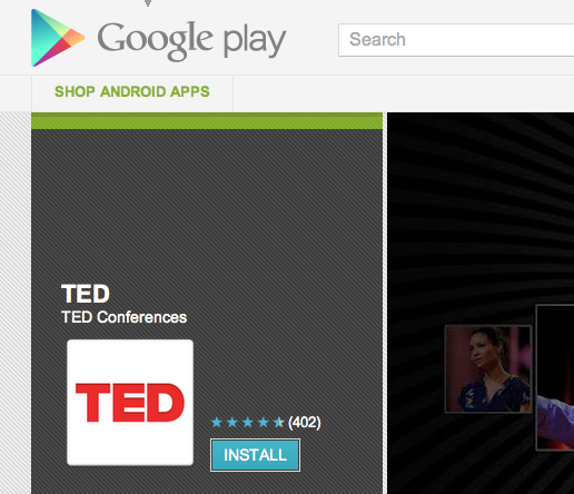 tedaa TED   finally   releases official Android app, offers 1,200+ amazing talks free of charge
