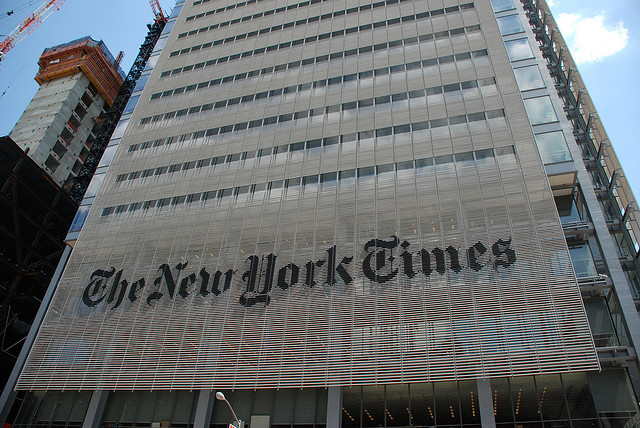 The New York Times among media outlets to join Mozilla-Knight OpenNews