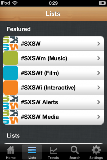 the social radio iphone featured sxsw 220x330 The Social Radio lets you tune in to SXSWs music and tweets on the web