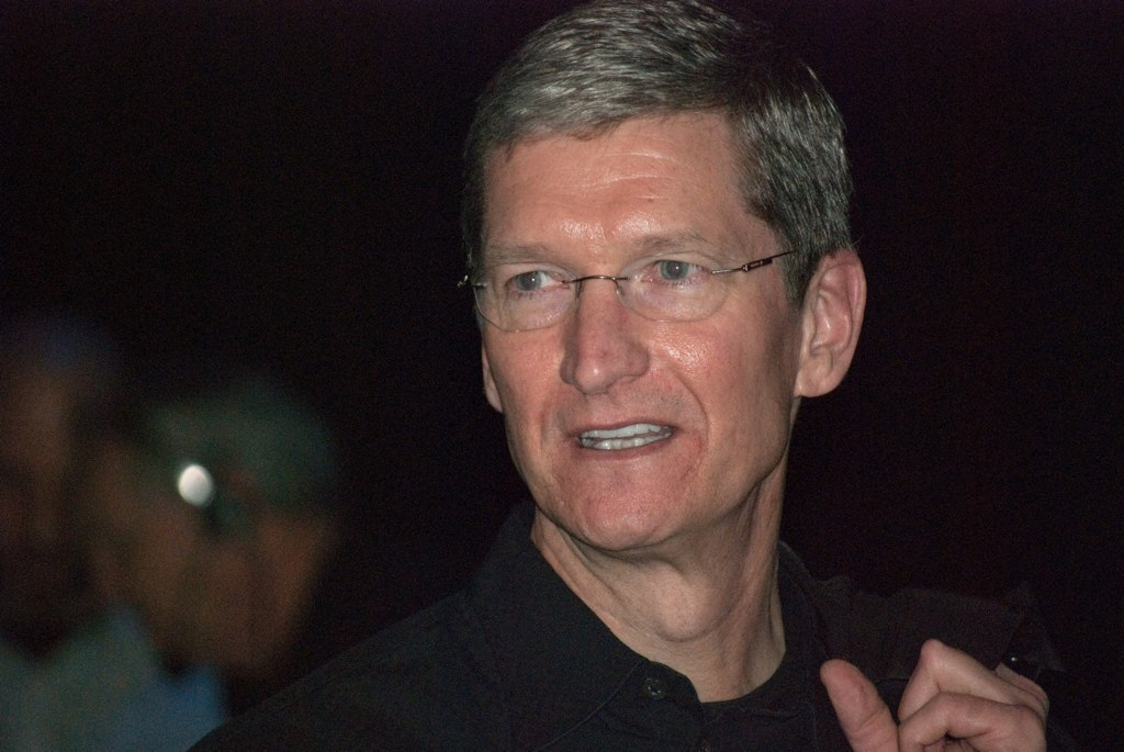 Apple reveals Tim Cook visited a Foxconn factory during his China trip