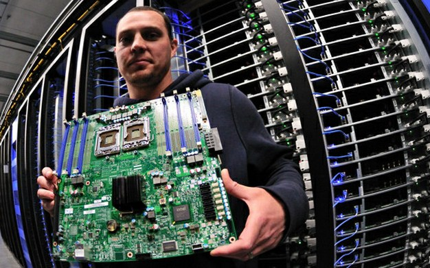 Facebook's North Carolina data center goes online