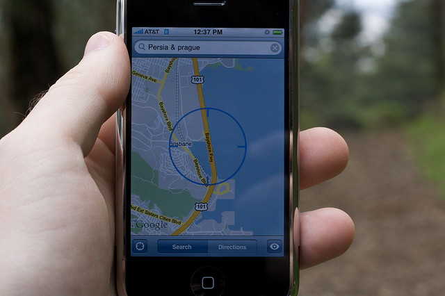 Space-time for iOS: The simple app that lets you request a person's location regardless of their ...