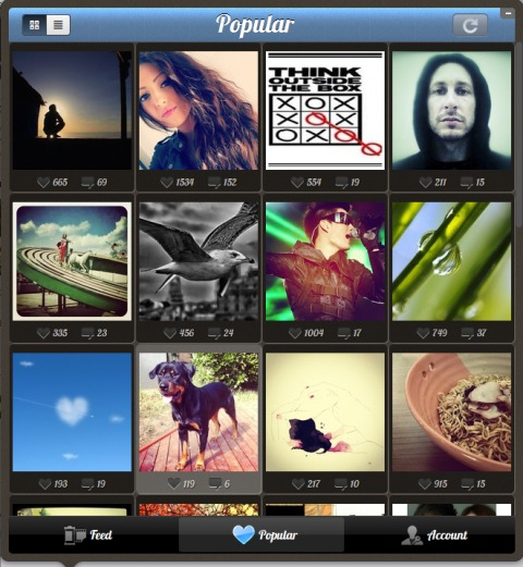 4191144FwCIpjeP Instagrille brings Instagram to your Windows PC