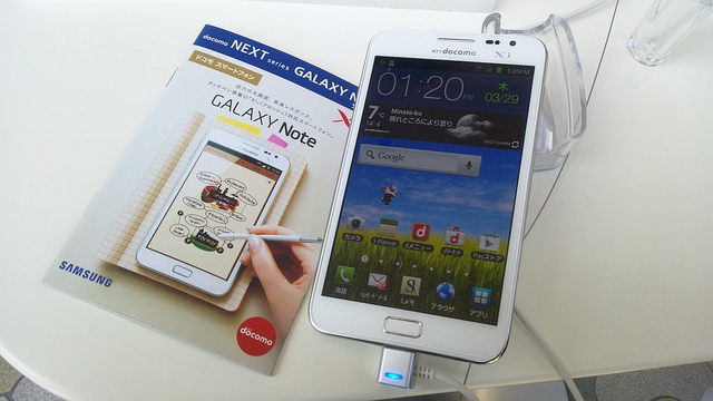 Samsung finally shows off the Galaxy Note's Draw Something capabilities, we wonder what took it ...
