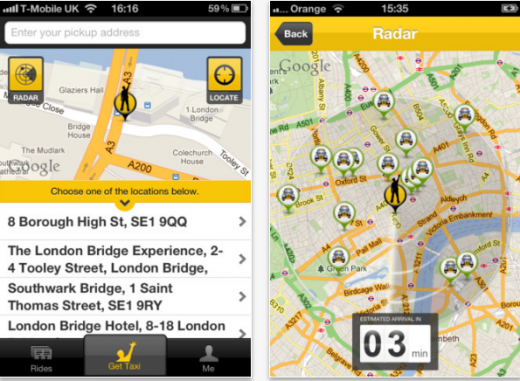GTA 520x381 GetTaxis iOS app now lets you view taxis in your area and give your location by nearest landmark