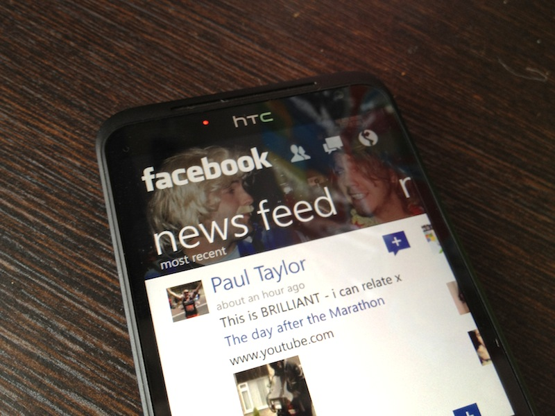 Facebook for Windows Phone completely redesigned with high-res pictures, post sharing, Timeline view, ...