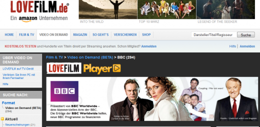 LoveFilm.de  520x254 LoveFilm brings BBC video on demand content to Germany