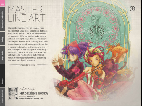 Manga Future Publishing launches How to Draw & Paint, an iPad magazine that teaches you different styles