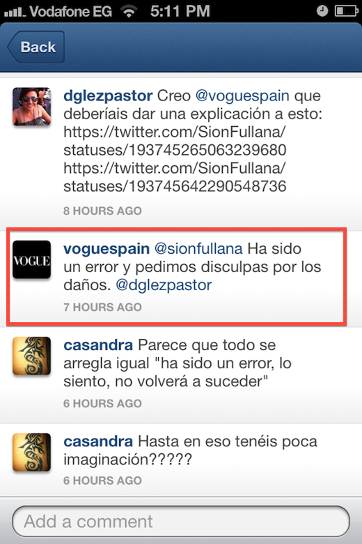 Photo Apr 22 5 11 34 PM How not to run an Instagram account: Vogue Spain caught stealing from well known street photographer