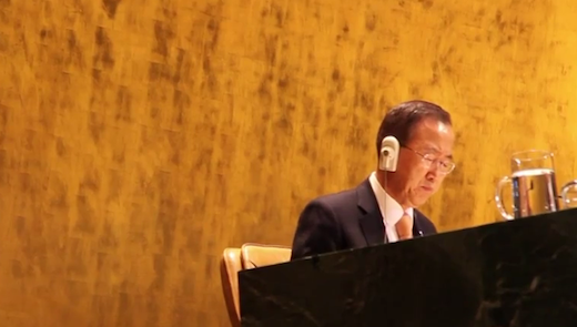 Google+ Hangouts teams up with the United Nations Secretary-General