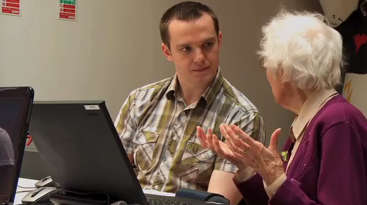 Google's Age Engage program hopes to teach your grandparents how to use the Internet