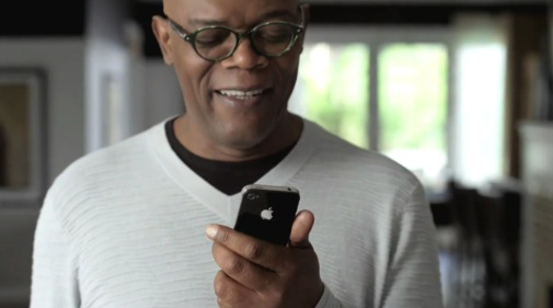 New Apple iPhone 4S commercials feature Samuel L. Jackson and Zooey Deschanel using Siri