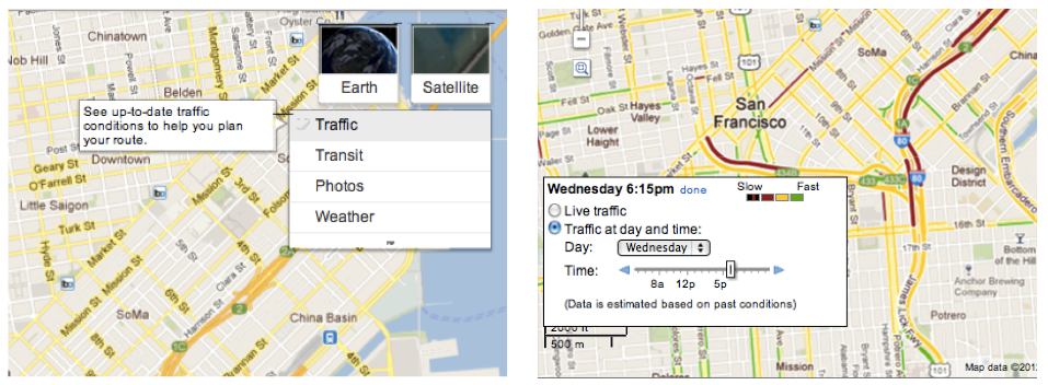 Now Google Delivers Traffic Pattern Estimates on Roads Too on google maps the world live, google current traffic, 3d google earth live, google maps traffic cameras, google india map with city,