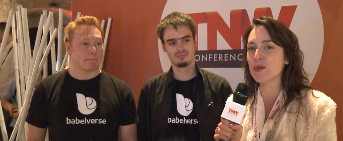 Meet Babelverse, the startup translating #TNW2012 into Spanish and Portuguese in real-time