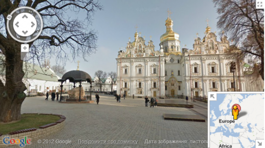 Screenshot 17 520x290 Google Street View arrives in Ukraine, just in time for the Euro 2012 football championships