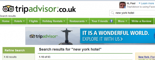 Screenshot 24 520x203 TripAdvisor deepens Facebook integration with Friend of a Friend recommendations