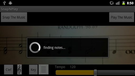 SnapNPlay2 SnapNPlay: This Android app reads sheet music and plays it back to you