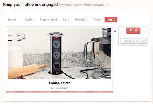 Suggested Pins Pinterest analytics site receives 36,000 sign ups in one week [Review and Invites]