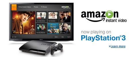 Amazon Instant Video And Prime Land On The Ps3