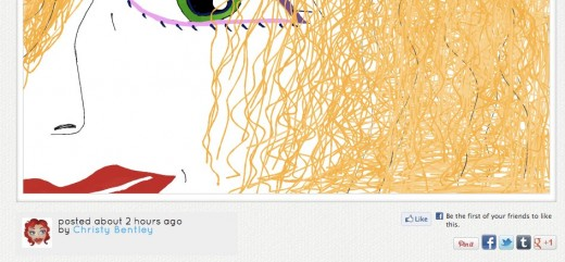 Unnamed doodle.ly  520x241 If youre a fan of Draw Something then youll love the social network Doodle.ly