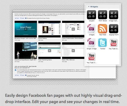 VSML DragDrop Involver launches Visual SML to make creating Facebook apps easier for marketers
