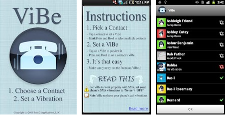 b4 ViBe hits 500,000+ Android downloads in 6 months & readies customizable social media vibration alerts