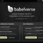 babelverse_homepage