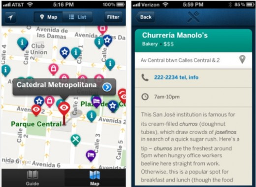 Lonely Planet Launches Country Guide Apps for iOS – App Travel Map