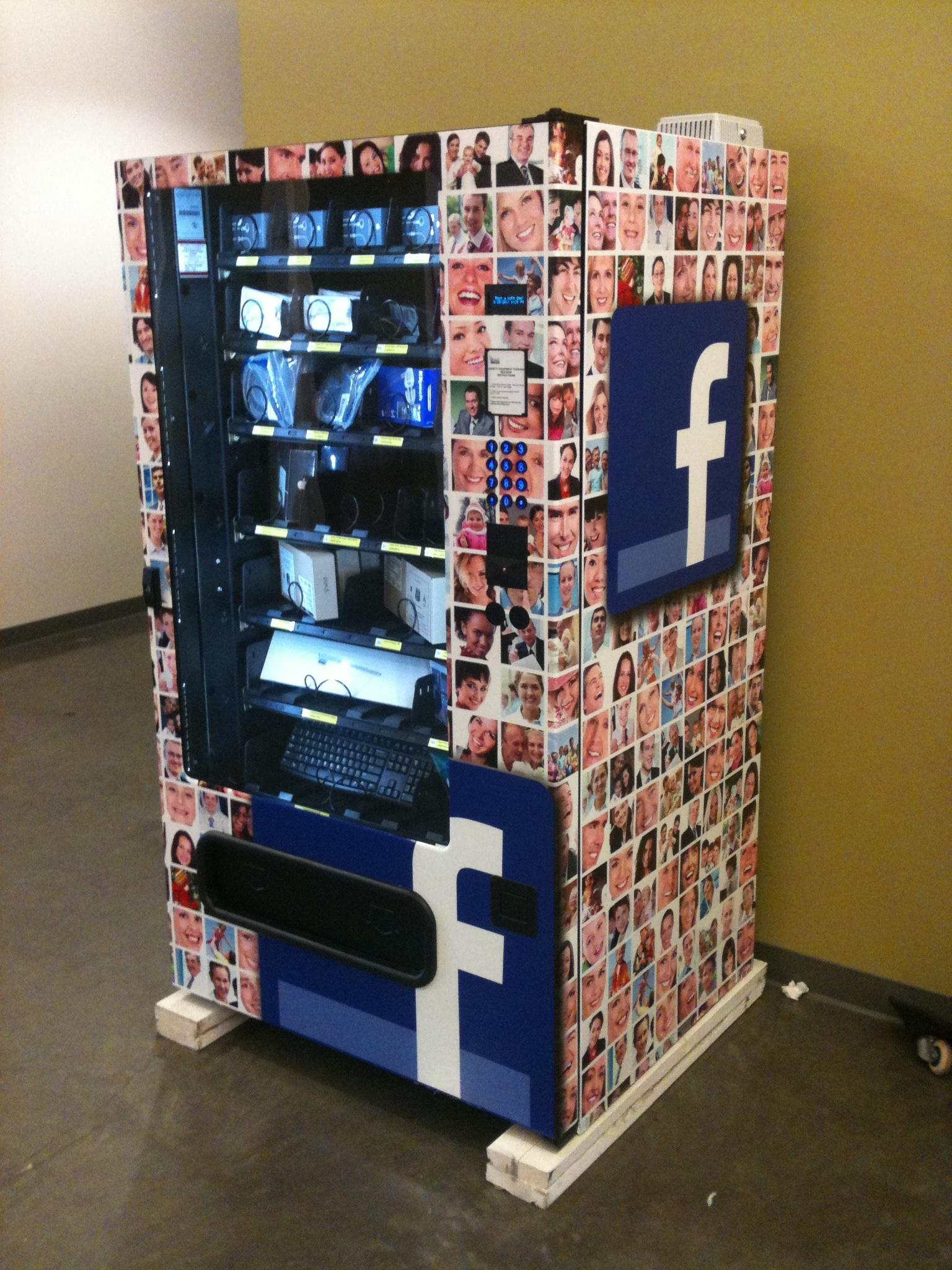 Google Copies Facebook Installs Gadget Vending Machines