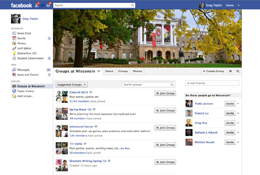fbschool1 Facebook announces Groups for Schools