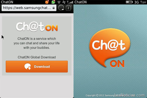 The FilAm » Samsung's messaging app ChatOn hits BlackBerry