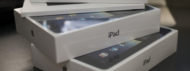 iPads in the box
