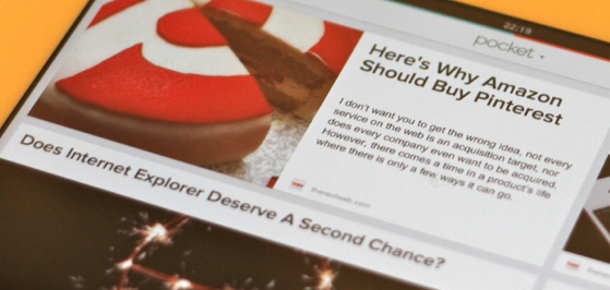 "Read It Later rebrands as ""Pocket"", goes free. Lets its 4.5m users save articles, videos, ..."