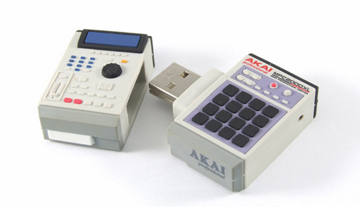 mpc An itty bitty beat committee of USB flash drives for music lovers