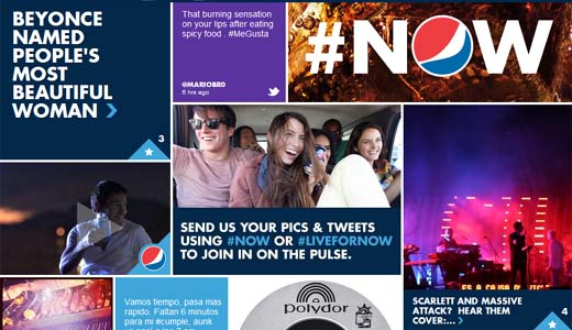 pepsi Pepsi and Twitter partner to stream live video of concerts to followers