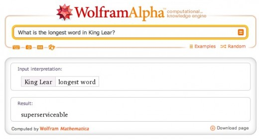 screenshot 2012 04 10 à 20.34.14 520x280 Wolfram Alpha now lets you analyze Shakespeares plays