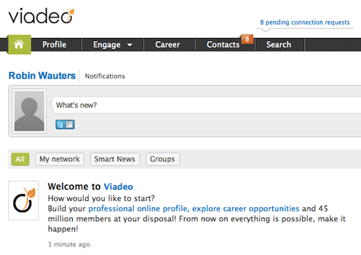 via Now at 45m members, LinkedIn rival Viadeo lands $32m to spur growth in Europe, emerging countries