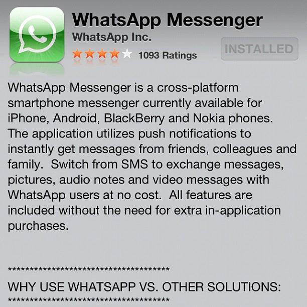 hook up on whatsapp
