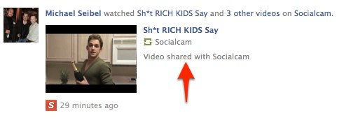 1 Facebook 1 Socialcam responds to questionable tactics by making YouTube videos more obvious