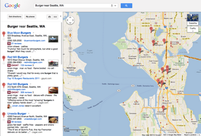 12 view zagat on maps Google overhauls its local search experience with Google+ Local, featuring Zagat scores