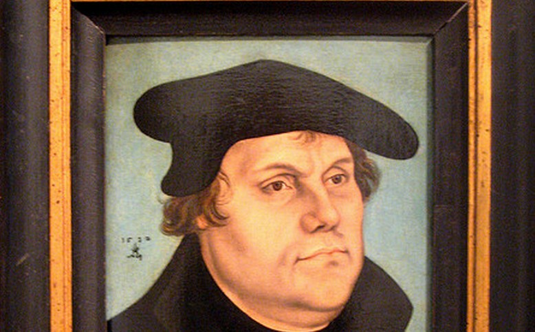 Feeling good today? This website uses Martin Luther's own words to take you down a peg