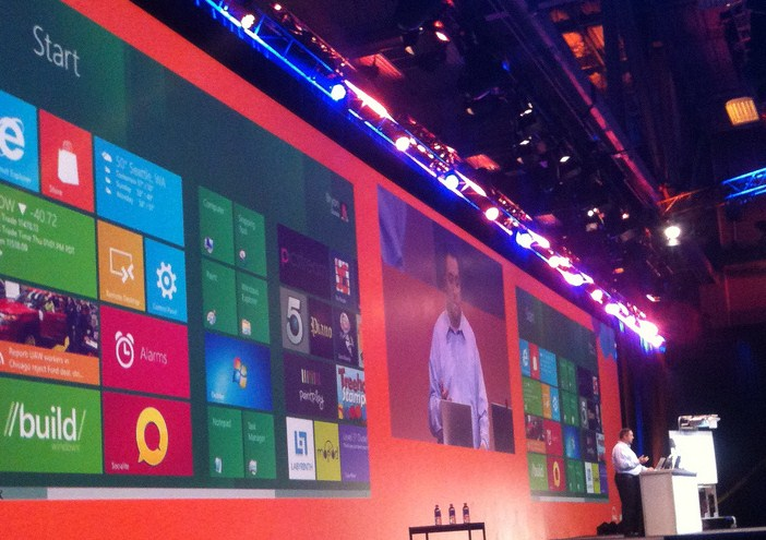 As the Windows 8 Release Preview looms, a fresh build of the operating system leaks