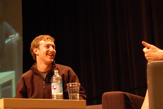 This executive pinstripe hoodie is perfect for any Facebook IPO fan