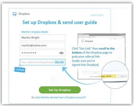 how to set up keepass with dropbox