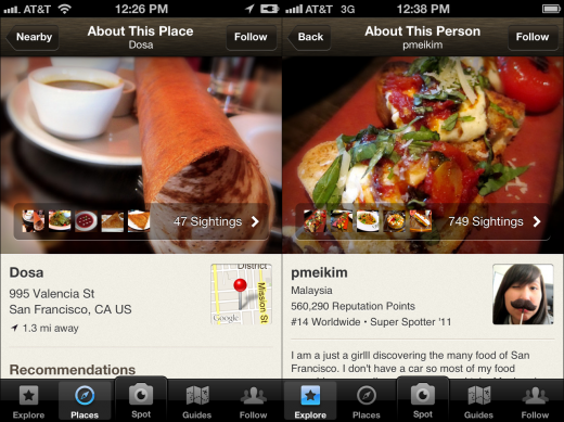 BLOG WIDESCREEN 520x389 With nearly 3M downloads, Foodspotting updates its iOS app to better serve your tastes