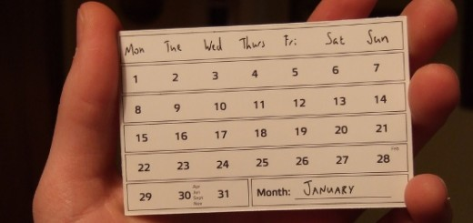 Easy Calendar: A simple iOS app for planning your weeks in just a few 'taps'