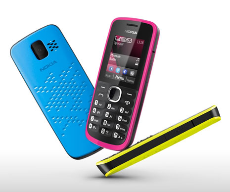 Nokia 110 Nokia unveils two new sub $50, social media enhanced dual SIM phones with 1.8 display, VGA camera