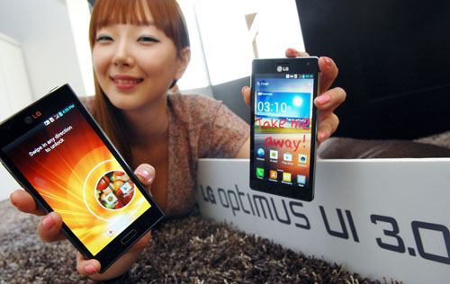 LG debuts Optimus UI 3.0 to compete with HTC Sense and Samsung TouchWiz